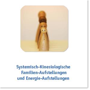 SYSTEMISCH-KINESIOLOGISCHE FAMILIEN- UND ORGANISATIONS-AUFSTELLUNGEN